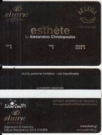 GREECE - Shark(Beluga), Esthete Member Card, Unused - Altri