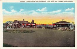 320583-North Dakota, Badlands, Painted Canyon Lodge, Curteich No 9A717-N - Autres