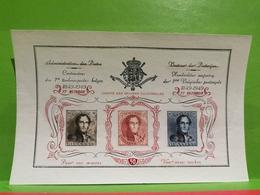 Vignette, Centenaire Des 1er Timbres-poste Belges 1949 - Postage Labels