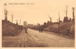 Ruines D'YPRES 1914-18 - Porte De Menin - Ieper