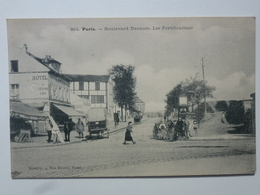 75 PARIS  Carte Rare à L'état Pur - Boulevard Davoust - Les Fortifications  DEN1221 - Autres