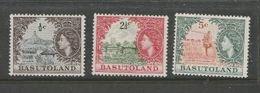 Basutoland, EIIR, 1961, 1/2 C, 2 1/2c, 5c, MH * - 1933-1964 Colonia Britannica