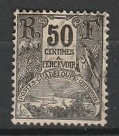 GUADELOUPE TAXE 1904 YT N° 20 Obl. - Segnatasse