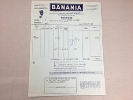 Authentique Et Ancienne Facture Vintage Banania Année 50/60 Old Invoice Bild - Factures