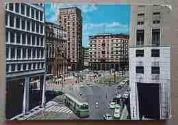 MILANO - Piazza San Babila Da Corso Europa - Auto, Bus -  Vg L3 - Milano (Mailand)