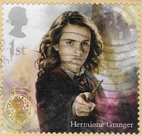 GB 2018 Harry Potter 1st Type 1 DIECUT Good/fine Used [40/32507/ND] - 1952-.... (Elizabeth II)