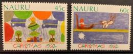 NAURU - MNH** -  1992 - # 397/398 - Nauru