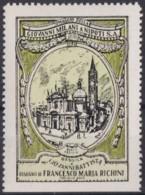 F-EX17454 ITALY ITALIA CINDERELLA 1930 BUSTO ARSIZIO CHURCH BATTISTA 41x54 Mm ORIGINAL GUM - Italie