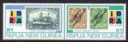 PAPUA NEW GUINEA, 1999 IBRA PAIR MNH - Papua-Neuguinea