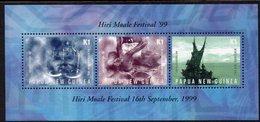 PAPUA NEW GUINEA, 1999 HIRI MOALA FESTVAL MINISHEET MNH - Papúa Nueva Guinea