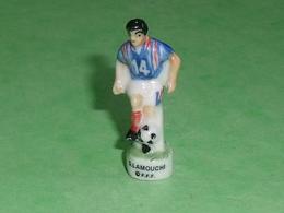 Fèves / Sports : Foot , S Lamouchi , FFF  ( 40 Mm  )   T14 - Sports