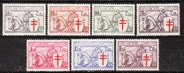 394/400**  Les Chevaliers - Série Complète - MNH** - COB 600 - Vendu à 13.50% Du COB!!!! - Unused Stamps