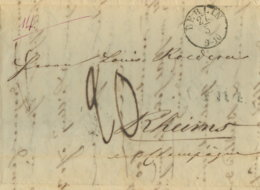 1839 Berlin , Briefesammlung C.P.R.4 U. 20 Dec Taxe N. Rheims - Germany