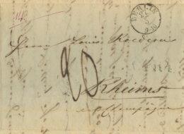 1839 Berlin , Briefesammlung C.P.R.4 U. 20 Dec Taxe N. Rheims - Germania