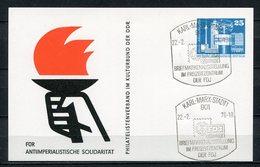 DDR Ganzsache Briefmarkenausstellung Karl-Marx-Stadt 1976   (B462) - [6] Oost-Duitsland