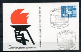 DDR Ganzsache Briefmarkenausstellung Karl-Marx-Stadt 1976   (B463) - [6] Oost-Duitsland