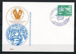 DDR Ganzsache Briefmarkenausstellung Karl-Marx-Stadt 1980   (B464) - [6] Oost-Duitsland