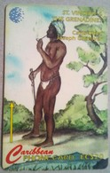 13CSVD Carib Chief Joseph Chatoyer EC$20 - St. Vincent & The Grenadines