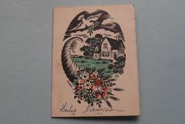 Publi / Reclame BERNADETTE ( B. Uleners DEURNE ) Zalig Nieuwjaar ( Kalender 1952 > Zie Foto's ) De Perel 215 ! - Calendarios