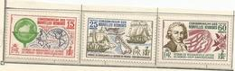 267/69  Bicentenaire Du Voyage     Ch (clarouyver Pag3) - Nuovi