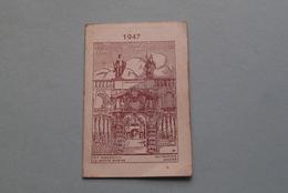 Publi / Reclame : EM. C. GOETHALS Antwerpen Stijfselrui / Nieuwe En Gebruikte Zakken ( Kalender 1947  > Zie Foto's ) ! - Calendriers