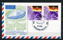 DDR Luftpost Vogtlandfahrt Des LZ 127 1980 (B489) Sonderstempel Reichenbach - [6] Oost-Duitsland