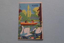 Publi / Reclame : Solution PAUTAUBERGE > Rhumes / Toux Bronchites > LABO ( Kalender 1932  > Zie Foto's ) ! - Kalender