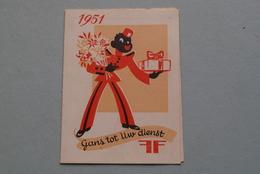 Publi / Reclame : MEMENTO Schoenen En Breigoed / Gans Tot Uw Dienst ( Kalender 1951  > Zie Foto's ) ! - Calendriers