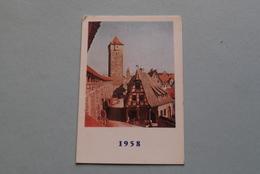 Publi / Reclame : Fabriek DE INDIAAN > Firma Ch. Leysen-Goossens TURNHOUT ( Kalender 1958  > Zie Foto's ) ! - Calendarios