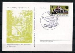 DDR Goethestadt Ilmenau 1980 (B492) Sonderstempel - [6] Oost-Duitsland