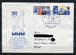 DDR 30.Zentrale MMM Pionierpostamt 1987 (B494) Sonderstempel - [6] Oost-Duitsland