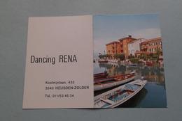 Publi / Reclame : DANCING RENA Heusden-Zolder ( Kalender 1979  > Zie Foto's ) ! - Calendriers