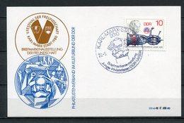 DDR V. Festival Der Freundschaft Karl- Marx- Stadt 1980 (B496) Briefmarkenausstellung - [6] Oost-Duitsland