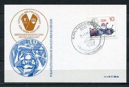 DDR V. Festival Der Freundschaft Karl- Marx- Stadt 1980 (B497) Briefmarkenausstellung - [6] Oost-Duitsland