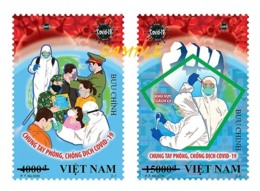Vietnam Viet Nam Maxi Card With Perf Stamps - Issued On 31th Of Mar 2020 : ANTI COVID-19 / CORONA VIRUS (Ms1121) - Vietnam
