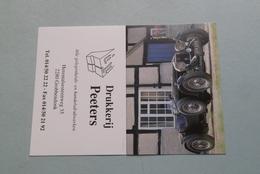 Publi / Reclame : Drukkerij PEETERS Grobbendonk ( Onderwerp AUTO ) ( Kalender 1998 > Zie Foto's ) ! - Kalender