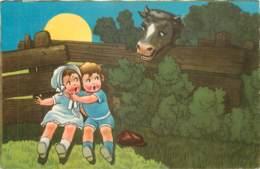 BELLE ILLUSTRATION -   ENFANTS Et Vache - Illustrateurs & Photographes