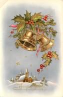 JOYEUX NOËL - CLOCHES - PAYSAGE - Natale