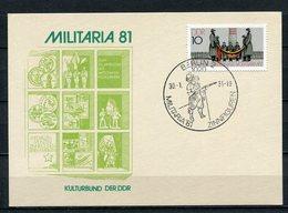 DDR Ganzsache Militaria Berlin Sonderstempel Zinnfiguren 1981  (B502) - [6] Oost-Duitsland