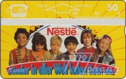 """TWK Österreich Privat: """"Nestle 2"""" (gelb) Gebr. - Austria"""