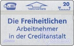 """TWK Österreich Privat: """"Die Freiheitlichen - CA"""" Gebr. - Austria"""