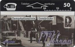 """TWK Österreich Privat: """"D-Day, Demarkationslinie"""" Gebr. - Austria"""