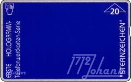 AUSTRIA Private: *Hologramm - Sternzeichen* - SAMPLE [ANK F19/H1] - Austria