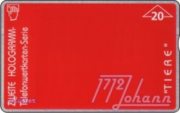 AUSTRIA Private: *Hologramm - Tiere 1* - SAMPLE [ANK F19/H2] - Austria