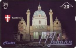 AUSTRIA Private: *Grundig - Karlskirche* - SAMPLE [ANK F20] - Austria