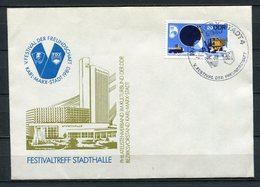 DDR V.Festival Der Freundschaft Karl-Marx-Stadt Stadthalle 1980  (B506) 2368 - Privatumschläge - Gebraucht