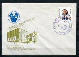 DDR V.Festival Der Freundschaft Karl-Marx-Stadt Messehallen 1980  (B507) - Privatumschläge - Gebraucht
