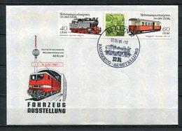 DDR Fahrzeugausstellung Berlin 1985  (B508) 2865 + 2867 Streifen - Privatumschläge - Gebraucht