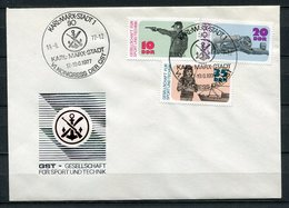 DDR VI.kongress Der GST Karl-Marx-Stadt 1977  Aerosozphilex (B510) 2220/4 - [6] Democratic Republic