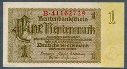 P173b Ro166b DEU-222b 1 Rentenmark 1937 UNC NEUF! - [ 3] 1918-1933 : República De Weimar